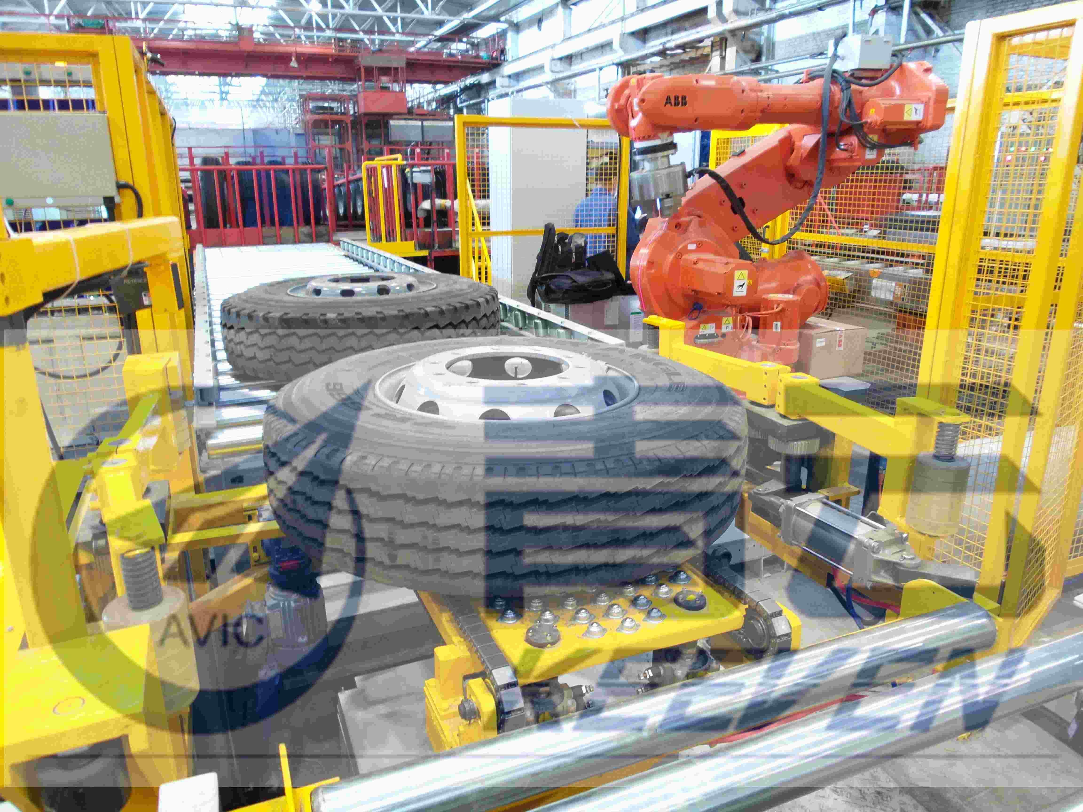 轮胎总成平衡均匀性检测生产线s